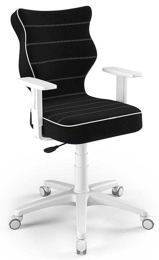 otel młodzieżowy ergonomiczny czarny Duo White JS01